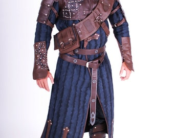 The Witcher 3 Geralt cosplay costume, Bear school Geralt of Rivia, The Witcher 3 Wild Hunt, cosplay replica