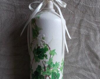 Ivy Leaf Decorative Bottle
