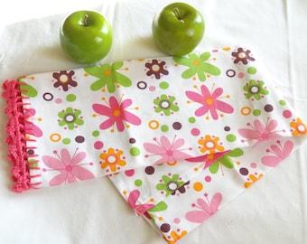 Flower Power Kitchen Tea Towel