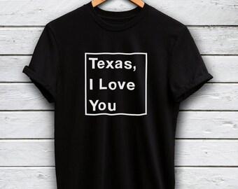 Texas tshirt - dallas shirt, i love texas, houston tshirt, texas shirt, houston shirt, texas t-shirts, texas t shirt