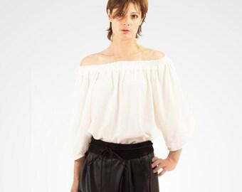 Viscose loose blouse