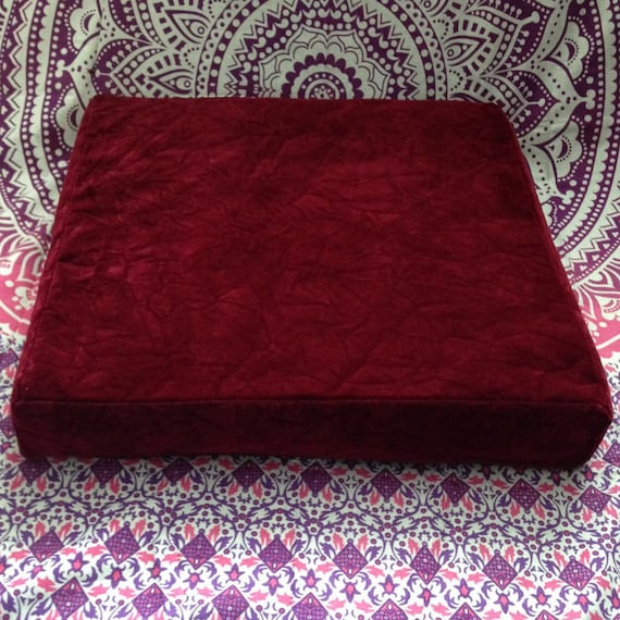 50 Off Mattress Sale: SALE 50% OFF Crushed Velvet Floor Cushion Boho Meditation