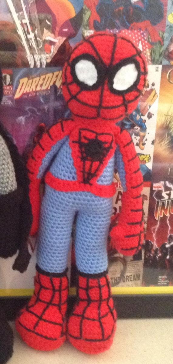 Spider-Man crochet pattern