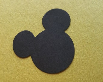 Mickey Mouse cutouts, Minnie Mouse, Scrapbook, Confetti, Mickey Mouse shapes, Clubhouse, Party Decorations, Table Decorations, Crafting