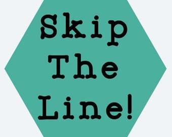Skip The Line Add On