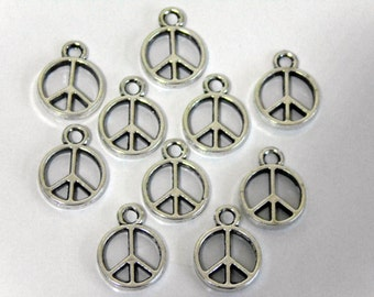10 Tibetan Peace Sign Pendant