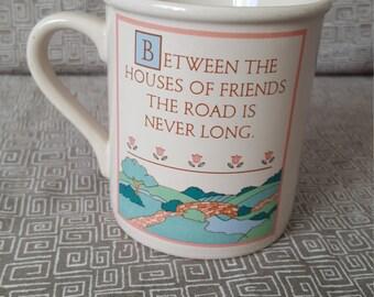 Vintage Hallmark 'Friends' Mug