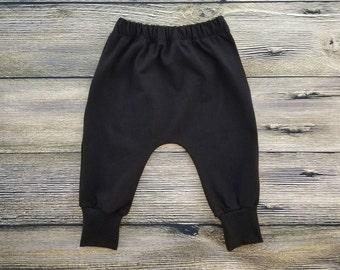 Baby Harem Pants Toddler Harem Pants Hipster Baby Clothes Baby Leggings Toddler Leggings Baby Jogger Pants Toddler Joggers Baby Joggers