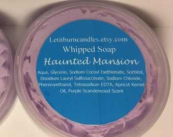 Haunted Mansion Disney Scented Whipped Soap