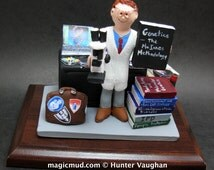 Geneticist's Custom Made Figurine, Personalized Genetic Doctor's Gift - Medical Science Graduation Gift - Scientist's Gift Figurine Custom