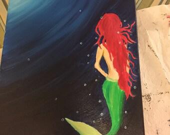 Mermaid Oil Painting