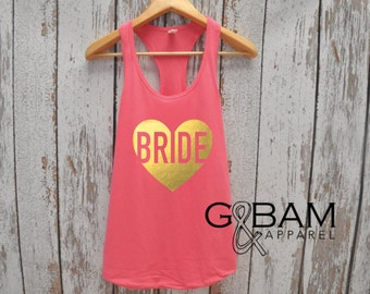 Bride Tank Top / Bridal Party Tank tops