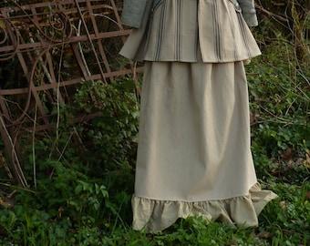 Skirt 18th inspiration pirate Victorian steampunk