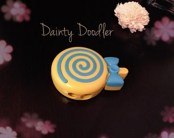 Cute Lollipop Sharpener / Kawaii / Yellow / Stationery / School / Office / Kids / Gift