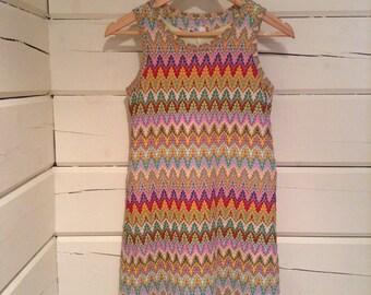 1960s Style Mini Dress