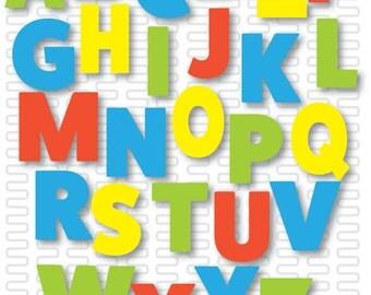 ABC Nursery Art- Printable