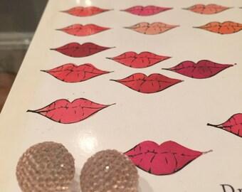 Darling Pink Post Earrings