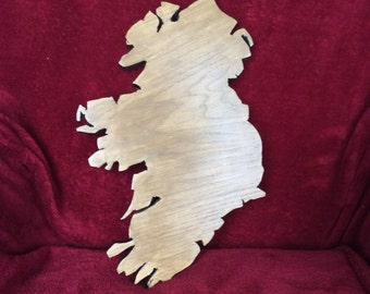 Handcrafted wood wall hanging - Ireland