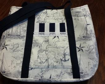 Nautical Love Purse