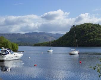 Boat Cove, Summer in Scotland Fine Art Photography Print