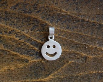 Happy Face Silver 925 Charm - Free Shipping within USA