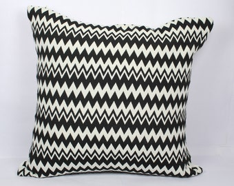 Black white geometric pillow covers beautiful decorative handmade cushion 18x18 pillow cover outdoor pillow cases summer throw pillows