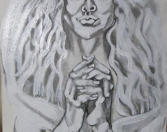 Celtic princess Original painting