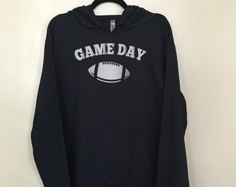 Game Day Sweater- Football Sweater - Game Day Football Shirts - Football Hoodie - Football Party - Tailgate Sweater