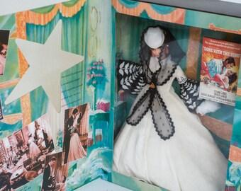 Barbie as Scarlet O'Hara - Honeymoon Dress