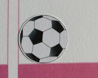 football soccer planner stickers