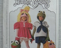 vintage Simplicity 9346 MUPPET BABIES childrens costumes sewing pattern