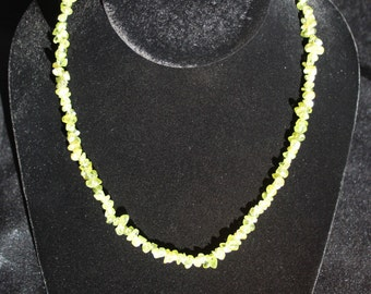 Necklace / Peridot Bracelet