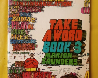 Take a Word Book 3 by Marion Saunders 1974