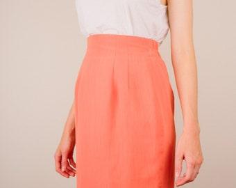 High-Waisted Tulip Skirt (S)