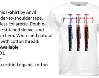Cross-bike Organic T-shirt