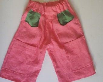 Linen gauchos