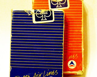 Delta Airlines 2 Decks of Playing Cards