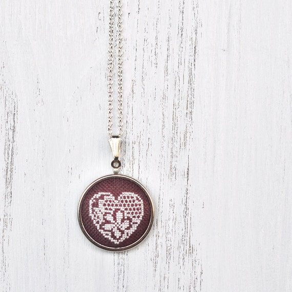 Cotton Wedding Anniversary Gift Ideas For Her: Cotton Anniversary Gift For Her. Marsala Jewelry. 2nd