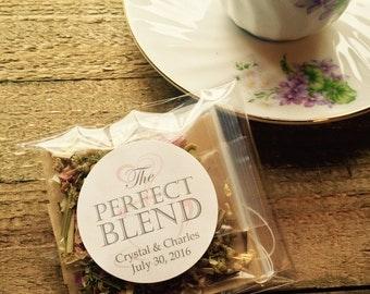 Bridal Tea, Akron House Hand-Blended Loose Leaf Tea- Wedding Favor, Bridal Shower Favor