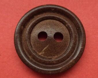 15 buttons 13mm 18mm dark brown (2571 2815) button