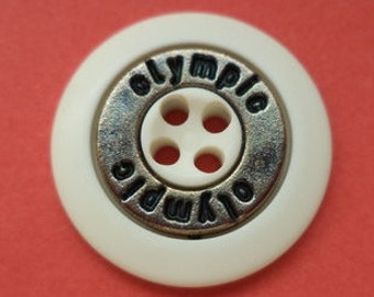 12 buttons white silver 18 mm (4491) button