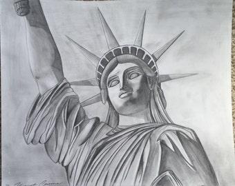 Original Pencil Statue of Liberty