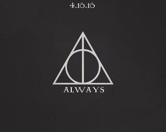 "Harry Potter ""Always"" Wedding Sign *Digital"