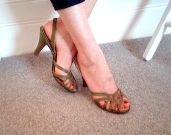1940s Vintage Heels UK size 5