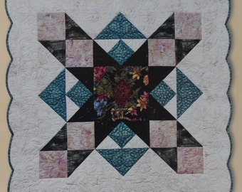 """Eleanor Burns 1277 Signature Quilt Pattern """"Wish Upon a Star"""" / Quilt in a Day / Three Hour Star / quilting / quiltmaking / wall hanging"""