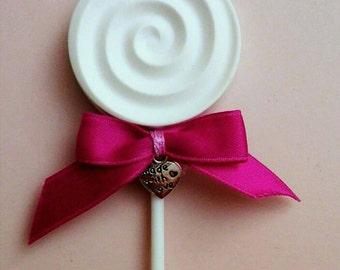 Scented ceramic plaster lollipop