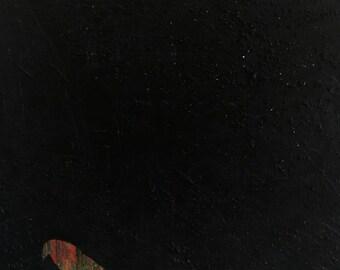 Magnet (4in x 4in) Original Artwork by Joel Wedberg