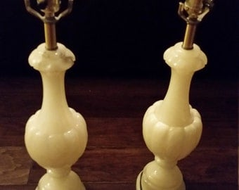 Antique Marble Lamps