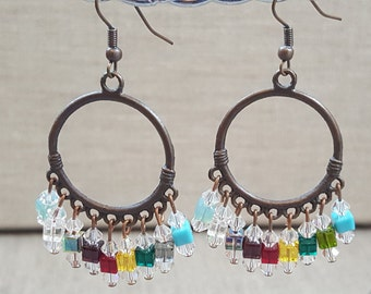 Gypsy Crystal Earrings