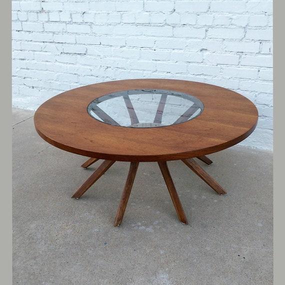 Mid century modern Broyhill Brasilia Cathedral coffee table